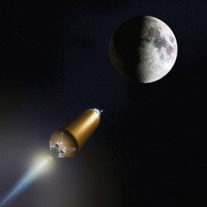 Rocket to moon