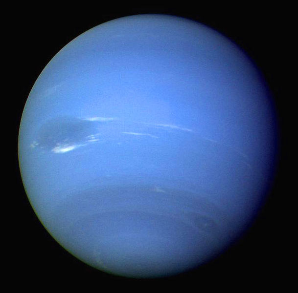 Neptune is also less than a year away from completing its first orbit since