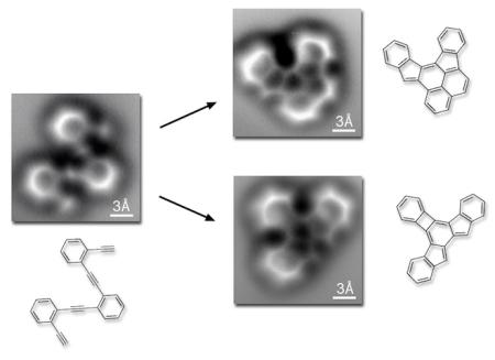 Carbon bonds visualised