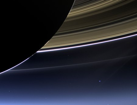 Earth from 1.4 billion kilometres