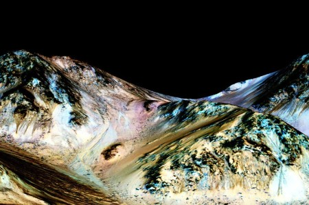 Salty water on Mars