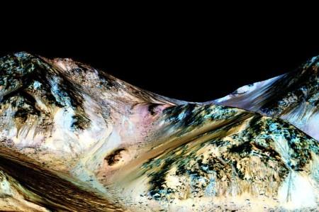 Salty water on Mars